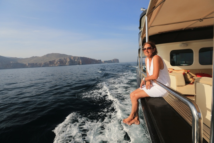 Off the coast of Musandam